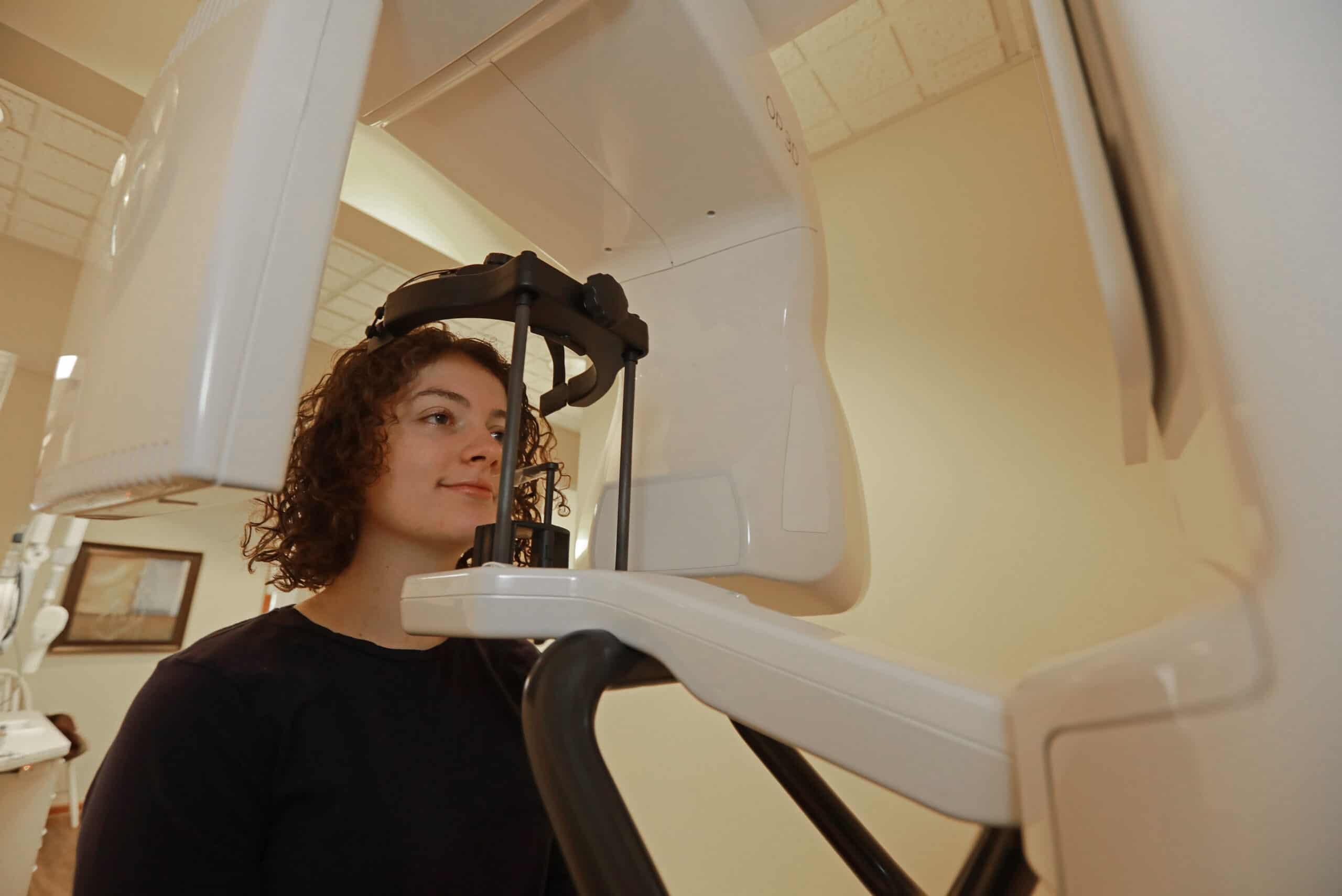 3D Cone Beam x-ray machine