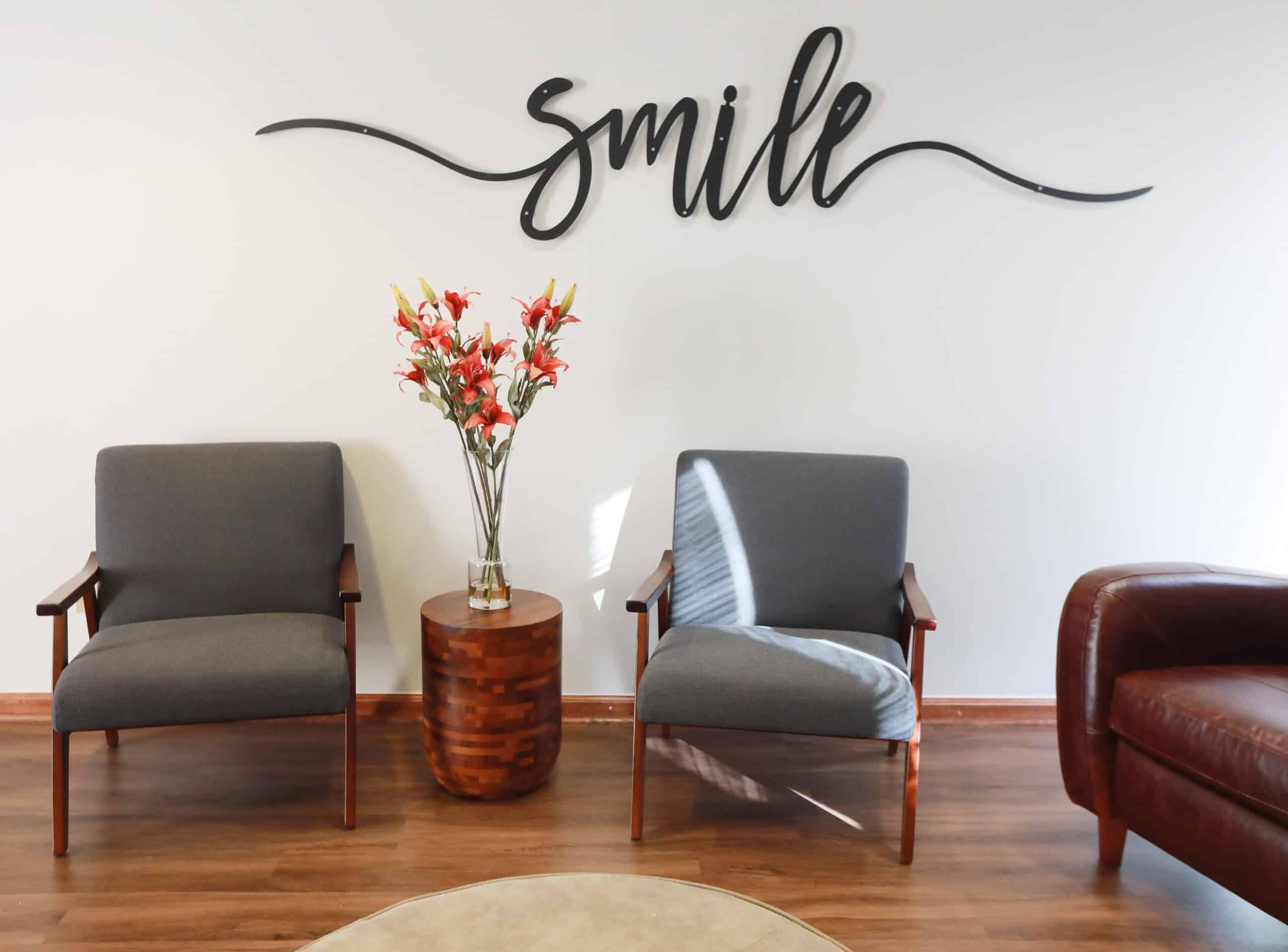 Bennett Dublin Dental office waiting room